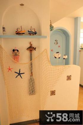 地中海风格玄关装饰效果图