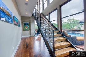 现代别墅室内楼梯设计图