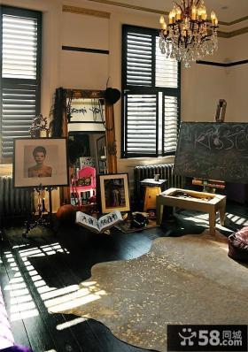 神秘现代小户型家居装修案例
