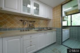 美式乡村风格设计厨房装修效果图