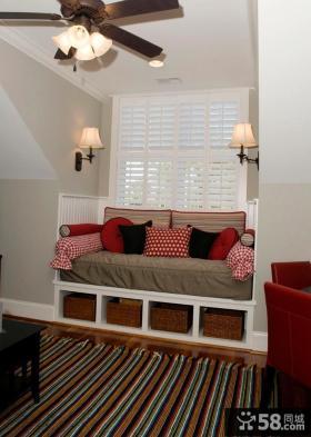阁楼飘窗设计效果图欣赏