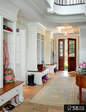 室内装饰效果图 别墅玄关装饰效果图