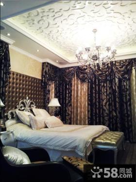 卧室水晶灯吊顶装修设计
