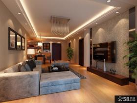 优质简约风格客厅电视背景墙装修效果图大全2013图片