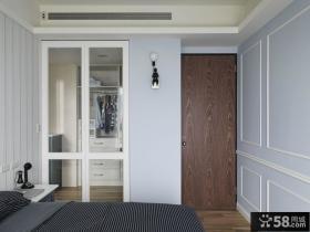 宜家风格卧室门图片欣赏