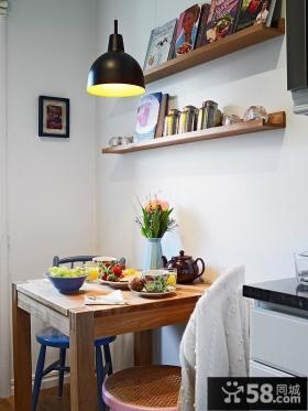 小户型简欧风格客厅电视背景墙装修效果图