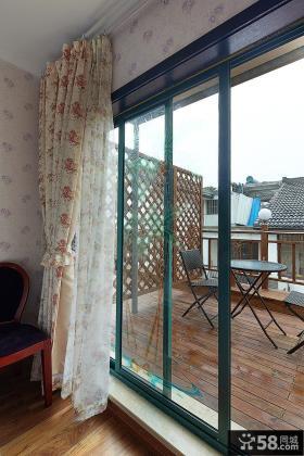 美式风室内阳台