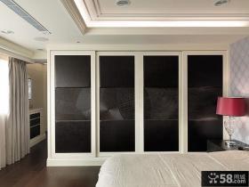 现代家庭设计室内卧室灯具图片