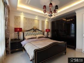 古典华贵欧式卧室布置