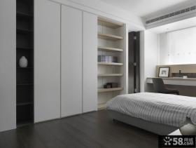 极简主义卧室衣柜图片