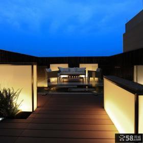 顶楼露台装修设计效果图