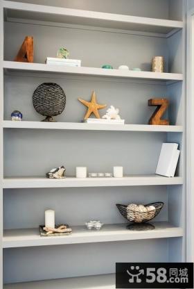 小户型收纳柜装饰效果图大全2012图片
