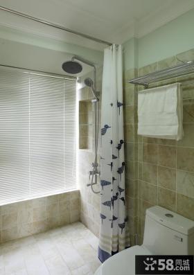 美式风格简约卫生间设计图