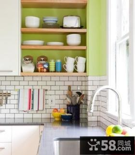 复式楼厨房装修效果图大全2013图片