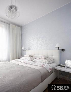 简约风格小户型卧室装修壁纸大全