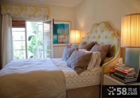 美式别墅卧室装饰图片欣赏