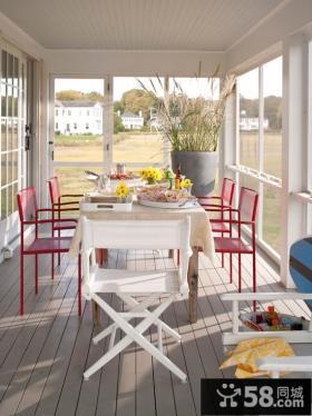 55平米小户型装阳台装修效果图