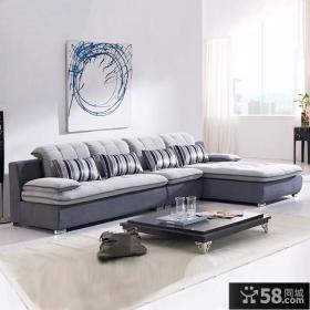 小户型转角沙发图片