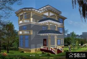 三层新农村别墅设计图