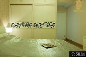 日式卧室衣柜效果图欣赏大全