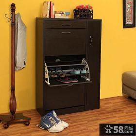 进门鞋柜设计图片