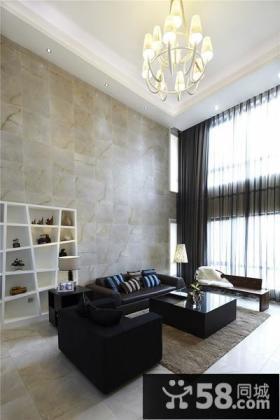 现代豪华复式家居装修效果图