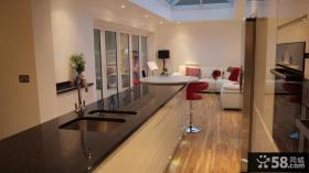 现代风格开放式厨房装修效果图大全