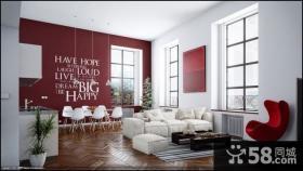 150万打造浪漫欧式风格别墅客厅背景墙装修效果图大全2012图片