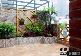 2013小阳台家庭园艺设计效果图