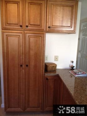 厨房实木橱柜图片欣赏