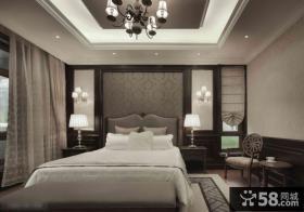 欧式风格卧室灯饰图片