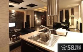 小户型现代厨房样板房装修设计