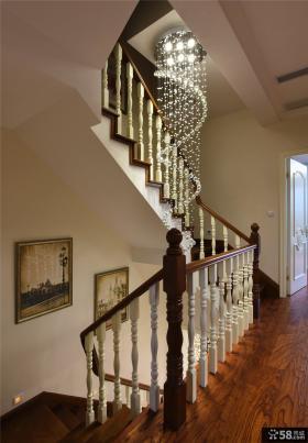 实木欧式楼梯装潢