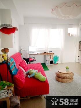 简约50平米小户型客厅沙发图片