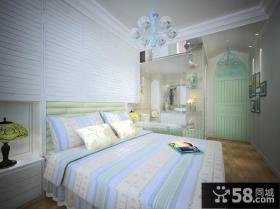 地中海卧室装修设计效果图