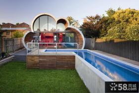 现代风格创意云屋别墅外观效果图