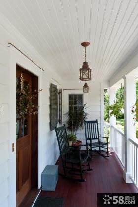 客厅休闲阳台设计效果图