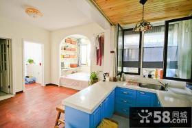 35平小户型收纳家居厨房橱柜