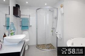 小复式家庭卫生间装修效果图大全2014图片