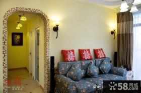 小户型客厅电视背景墙设计图