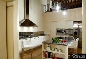 欧式风格装修设计厨房整体橱柜图片