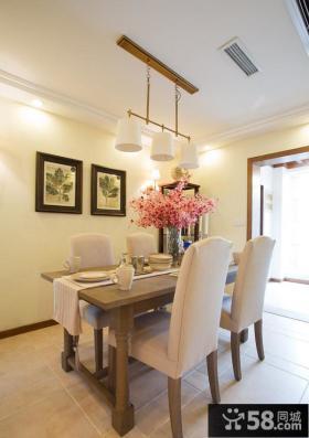 家装餐厅室内装饰画图片
