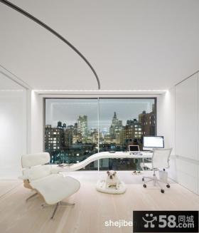 纽约复式楼书房装修效果图大全2013图片
