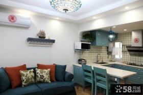 地中海风格家装室内厨房图片大全