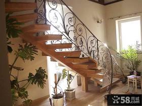 室内铁艺楼梯扶手图片
