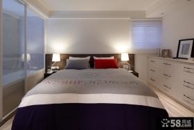 简约设计装饰卧室室内图片