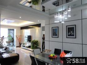 现代装修风格复式楼室内设计