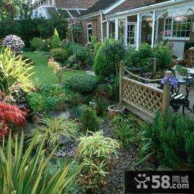 别墅庭院花园设计效果图