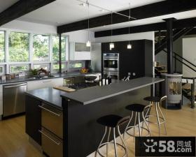 大复式楼厨房装修效果图