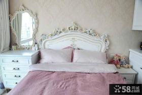 简欧式家居卧室装修案例